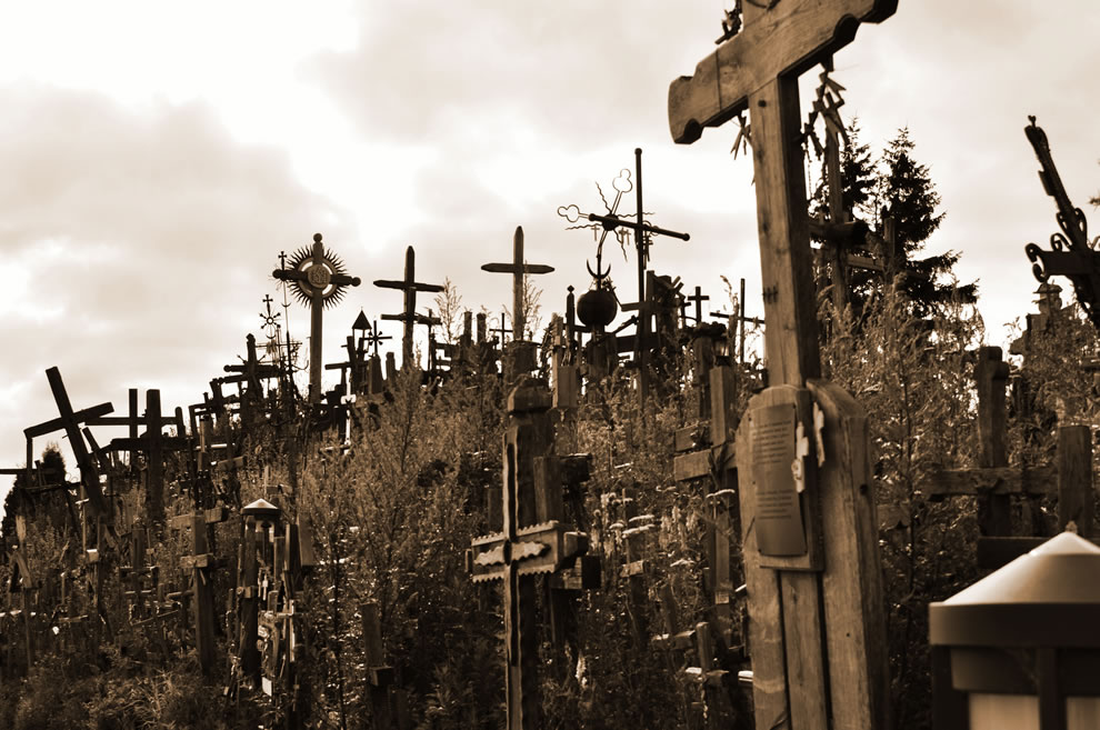 Hill of Crosses takes my breath away