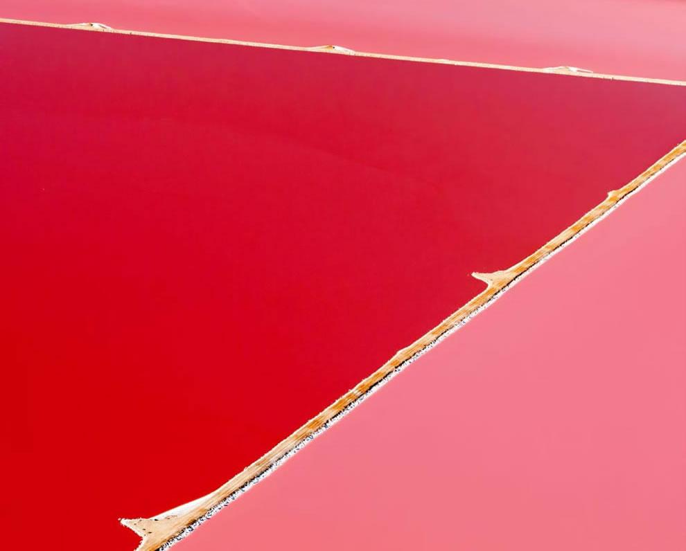 Hutt Lagoon as art