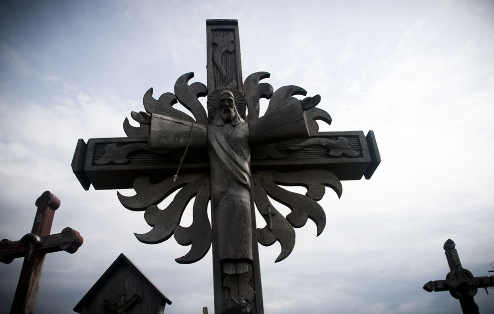 Jesus on the Cross, Hill of Crosses