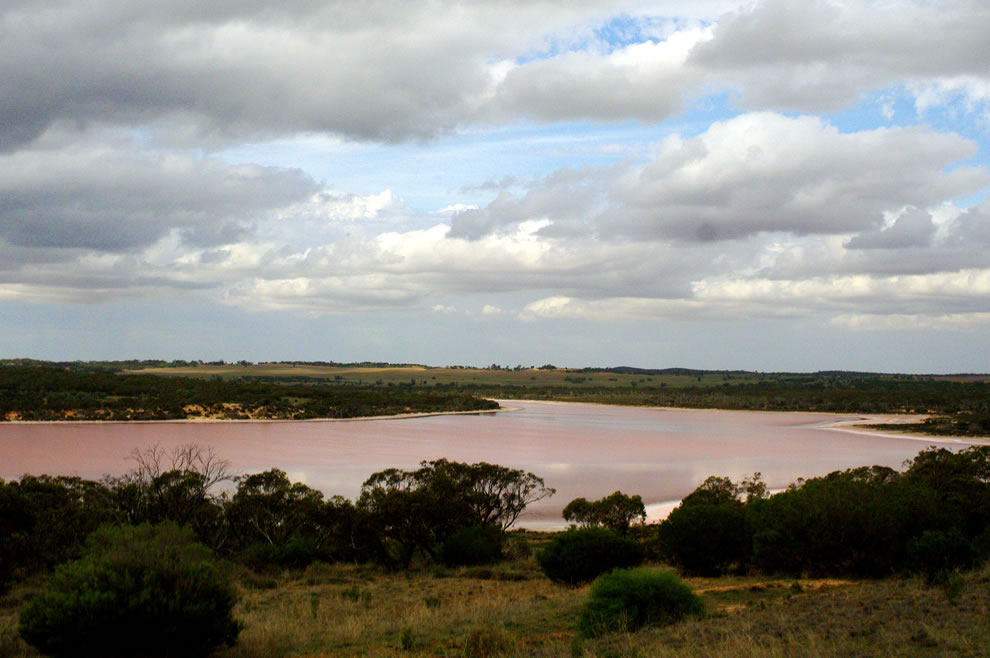 Lake Kenyon at Murray-Sunset National Park, Victoria, Australia