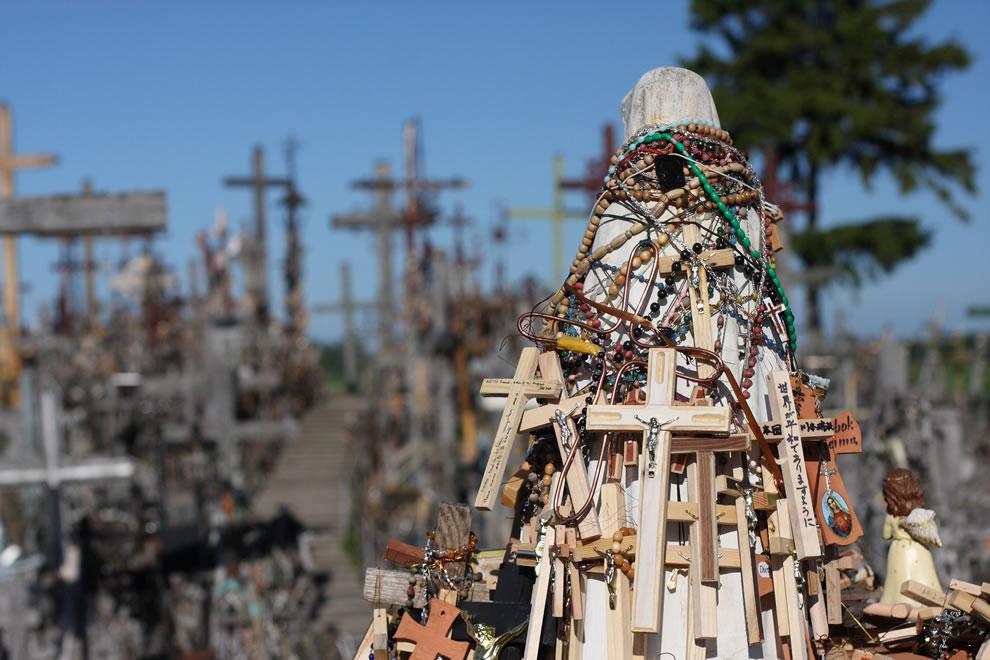Rosaries and crosses