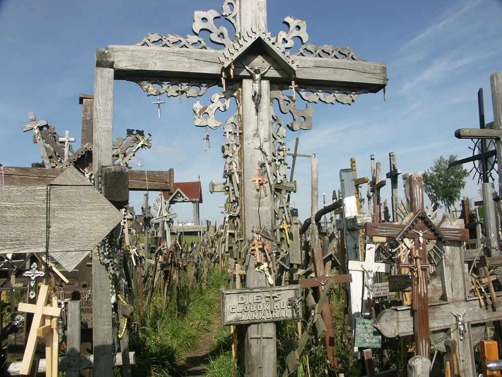 Sacred sight in Lithuania