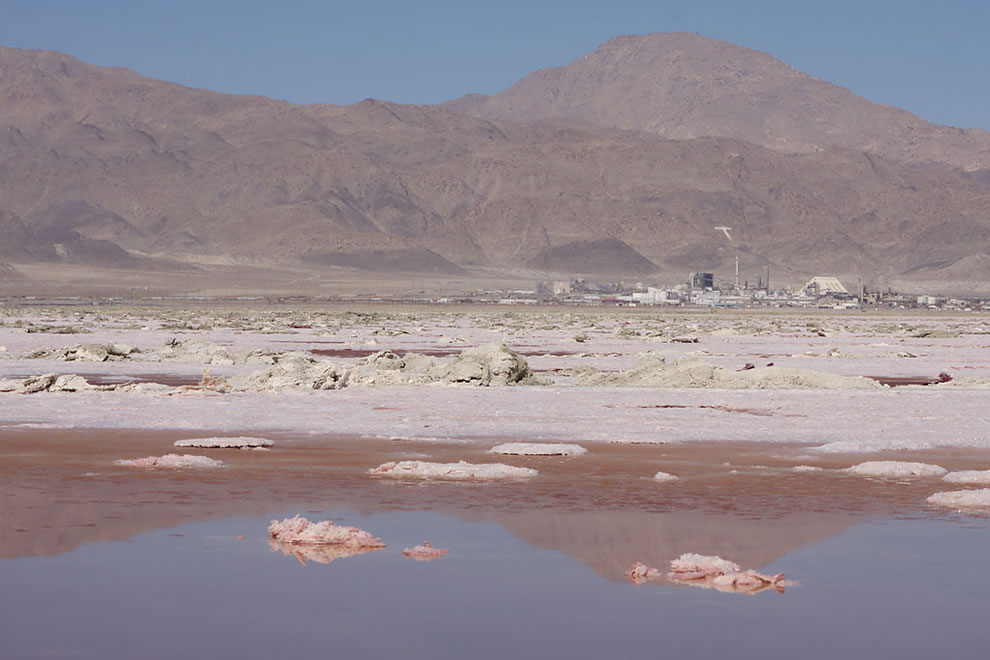 Searles Lake and the Town of Trona