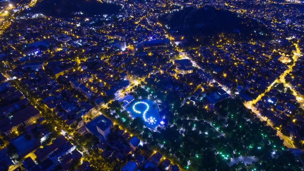 Dronestagram contest entry Plovdiv, Bulgaria