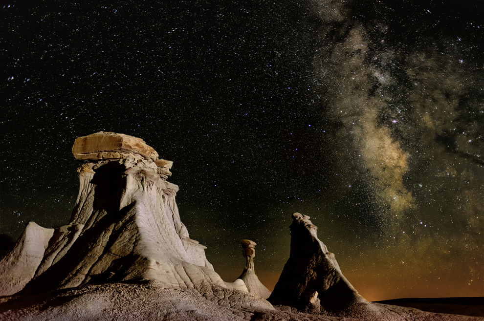 Stars in the Valley of Dreams, Ah-Shi-Sle-Pah Wilderness in New Mexico