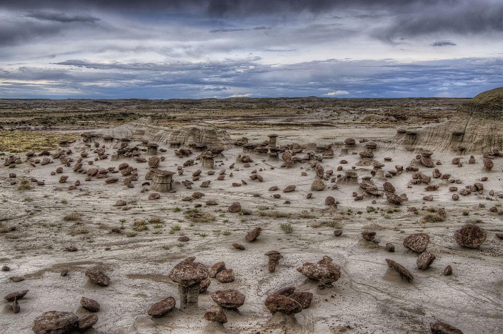 The little ones, desert landscape of Ah Shi Sle Pah Wilderness